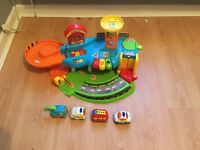 VTech Baby Toot Toot Drive Garage (with 4 cars)