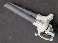 Ryobi Petrol Leaf Blower / Vac ( no bag ) been used as a blower only