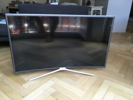 Curved 40 inch Samsung LED smart TV fantastic condition - Hardly used