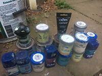Tester paint pots