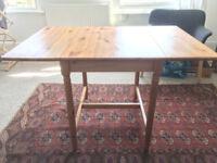 SECOND HAND DROP LEAF TABLE - IKEA INGATORP