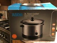 Slow cooker **sold**