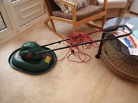 Lightweight hover type Qualcast electric lawnmower