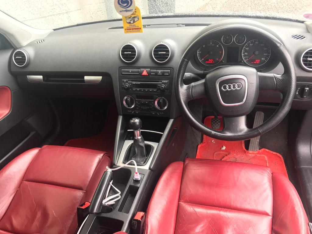 Audi Oil Type >> Audi A3 sportback red leather interior | in Albany Road, Cardiff | Gumtree