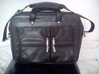 Computer bag/messenger bag faux leather