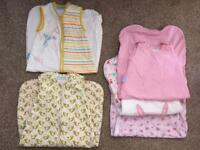 Baby sleeping bags/ Gro bags York great condition 6-18 mo
