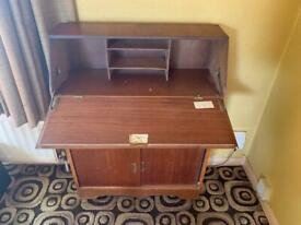 Vintage wooden bureau
