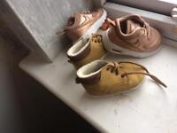 Little baby girl trainers