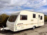 Avondale Argente 5 Berth Caravan - Lightweight Caravan - 2004 Model