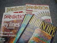 Old Prediction and Horoscope magazines.