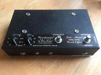 Vanamps Solemate Analog Spring Reverb Pedal
