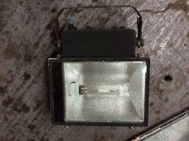 Halogen Flood Lights - Sensor Lights - Yard Lights - Security Lights - £10
