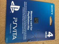 Play station vita memory card