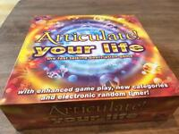 Articulate your life board game - new (still in plastic packaging)
