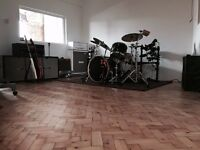 Rehearsal Space / Music Studio Available