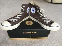 Pair of Converse All-Star boots in UK size 6