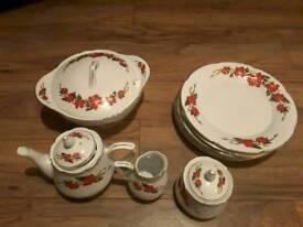CHINA DINNER AND TEA SET