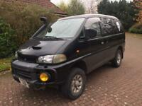 1 year mot Mitsubishi delica space gear exceed 2.8 turbo diesel automatic 7 seater