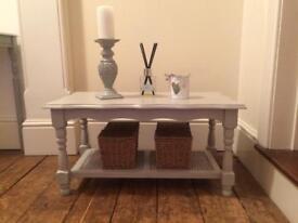 Beautiful grey coffee /side table