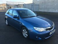 2008 Subaru Impreza 1.5 RX 5dr / 4X4 / FINANCE AVAILABLE / RAC WARRANTY