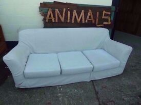 3 Seat Sofa with Washable Covers Delivery Available