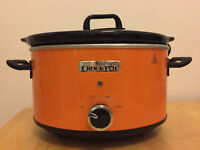 Crock-Pot Slow Cooker, 3.5 L - orange