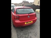 BMW 1 Series sport. Full BMW service history, 1 owner from new.