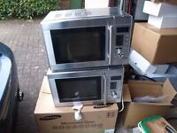 TWO MICROWAVE OVENS ( spares or repair)