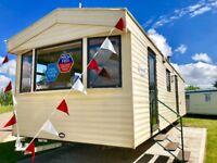 Cheap 3 bed static caravan & 3 Yeras Site Fees FREE AT Martello clacton st osyth essex suffolk kent