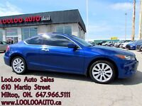 2008 Honda Accord EX-L V6 Coupe Auto Leather Certified 2 YR Warr