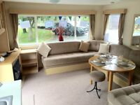 cheap static caravan for sale Rookley country park finance available 12month season fees included