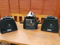 DJ Tech Stage Visa 200 Lite Portable PA System