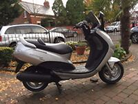 Selection of used 125 scooters from £599 kymco nexon-peugeot elystar-sym symply-honda fes pantheon