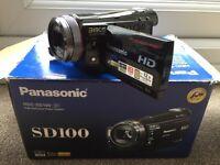 Panasonic SD100 High Def Camera