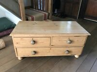 Old Pine TV Cabinet / Cupboard