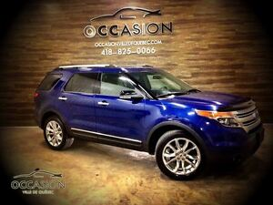 2013 Ford Explorer XLT CUIR GPS 4WD DVD 7 PLACES