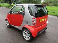 2004 54 SMART CAR 0.7 CITY PASSION 61 AUTO MOT 06/2018 HISTORY ALLOYS 6 SPEED LOVELY DRIVE PX SWAPS