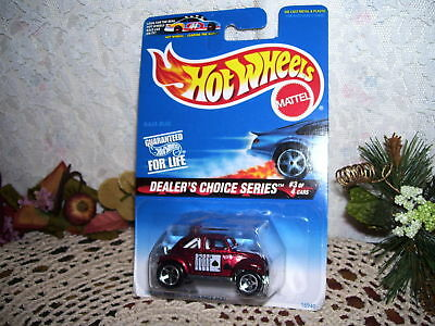 1996 Hot Wheels Volkswagen Baja Bug Dealers Choice MIP