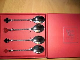 Spoons with playing card symbols. New. An unusual gift maybe?