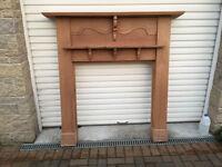 Victorian Oak Fireplace