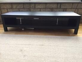 large black tv stand - IKEA lack bench