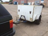 Box car trailer project