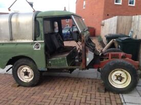 Land Rover series 3 winter project tax exempt