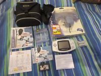 Nintendo Game Boy Advance Platinum Handheld + Game + NEW Battery Grip + FREE pokemon games