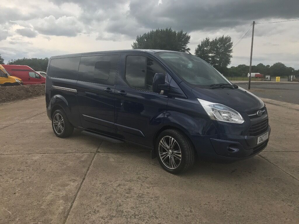 2013 blue ford transit custom sport tourneo 9 seater. Black Bedroom Furniture Sets. Home Design Ideas