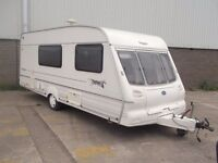 BAILEY PAGEANT 4 BERTH CARAVAN EXCELLENT CONDITION,SEPERATE SHOWER,SWIVEL TOILET,READY 4 HOLS
