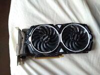MSI Radeon RX 570 ARMOR 8G OC Graphics Card