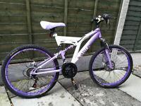 Sabre Sahara - Girl's Mountain Bike with suspension
