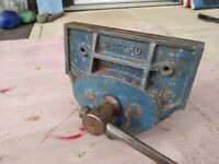 Record No 52 1/2E wood working vice with quick release. Made in England.