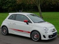 2011 Abarth 500 1.4 T-Jet 3dr - JUST 7,608 MILES - HUGE SPECIFICATION